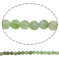 Australia Chrysoprase Bead, Round, natural, different size for choice, Hole:Approx 1mm, Length:Approx 15.7 Inch, Sold By Strand