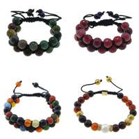 Agate Shamballa Bracelets