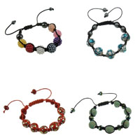 Indonesia Beads Shamballa Bracelets