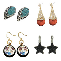 Rhinestone Jewelry Earring