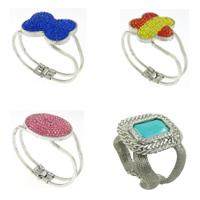 Rhinestone Iron Bracelets