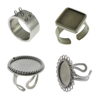 Stainless Steel Finger Ring Setting
