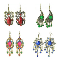 Resin Zinc Alloy Earring