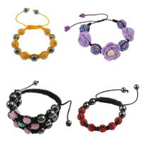 Resin Woven Ball Bracelets