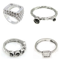 Zinc Alloy Finger Ring Setting