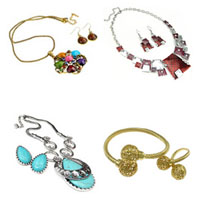 Zinc Alloy Jewelry Sets