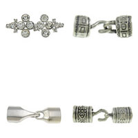 Zinc Alloy Hook and Eye Clasp