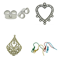 Iron Earring Findings
