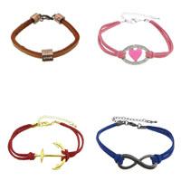 Leatheroid Cord Bracelets