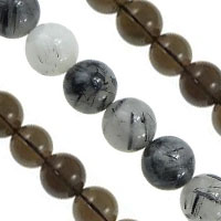 Rutilated Quartz Beads