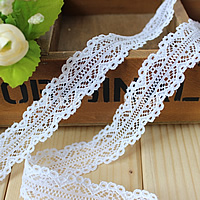 Lace Trim, white, 22mm, 400Yards/Lot, Sold By Lot