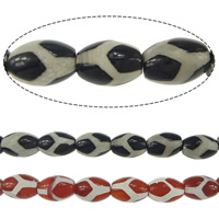 Natural Tibetan Agate Dzi Beads, Oval, more colors for choice, 14x10mm, Hole:Approx 1.5mm, Approx 28PCs/Strand, Sold Per Approx 15.5 Inch Strand