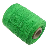 Sewing Thread, Polyester, green, 1mm, Sold By PC