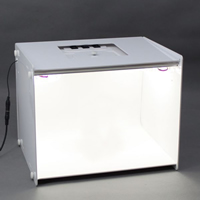 Mini Photo Studio, Acrylic, with ABS Plastic, Rectangle, different size for choice, white, 303x244x238mm, Sold By PC