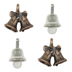 Zinc Alloy Bell Pendants