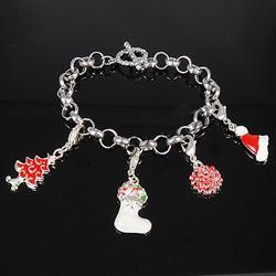 Iron Christmas Bracelet