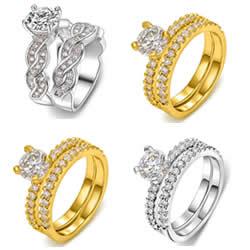 Brass Ring Set
