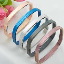 Titanium Steel Bracelet & Bangle