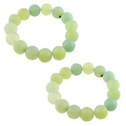 Green Agate Bracelets
