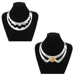 Brass Collar Necklace
