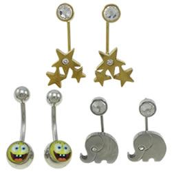 Stainless Steel Belly Ring