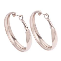 Stainless Steel Hoop Earring