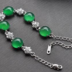 Gemstone Sterling Silver Bracelets
