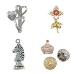 glue on jewelry pendant bails