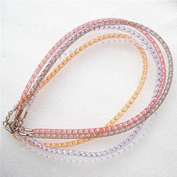 Plastic Net Thread Necklace Cord