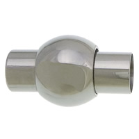 Stainless Steel Magnetic Clasp, Lantern, different size for choice, original color, Sold By PC