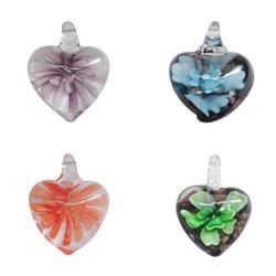 Inner Flower Lampwork Beads