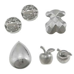 Stainless Steel No Hole Beads