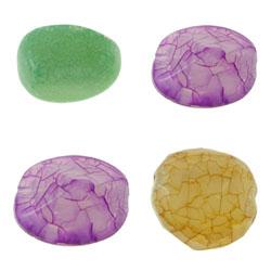 Ice Flake Acrylic Beads