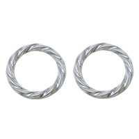 Zinc Alloy Soldered Jump Ring, platinum color plated, 18x2mm, Hole:Approx 14mm, Sold By PC