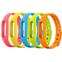 Silicone Replaceable Wristband, with Aluminum, more colors for choice, 15mm, Length:Approx 9 Inch, Sold By PC