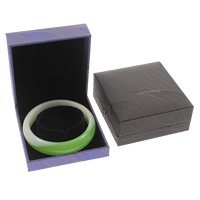 Silk Bracelet Box, with Cardboard & Velveteen, Square, more colors for choice, 88x84x35mm, Sold By PC