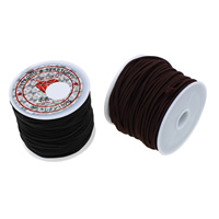 Elastic Thread, Nylon, with plastic spool, more colors for choice, 1.2mm, 25PCs/Bag, 16.5m/PC, Sold By Bag