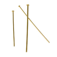Gold Filled Headpin, 14K gold-filled & different size for choice, Sold By PC
