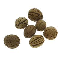 Peach Pit Beads, original color, 14x15mm-18x19mm, Hole:Approx 2mm, Sold By PC