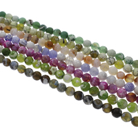 Dyed Agate Beads, Fire Agate, Round, faceted, more colors for choice, 10mm, Hole:Approx 1mm, Length:Approx 14.5 Inch, Approx 38PCs/Strand, Sold By Strand