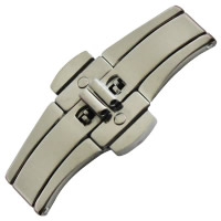 Stainless Steel Watch Band Clasp, Tungsten Steel, different size for choice, original color, Sold By PC