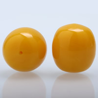 Yellow Baltic Amber Beads, natural, yellow, 20x22mm, Hole:Approx 1-2mm, Sold By PC