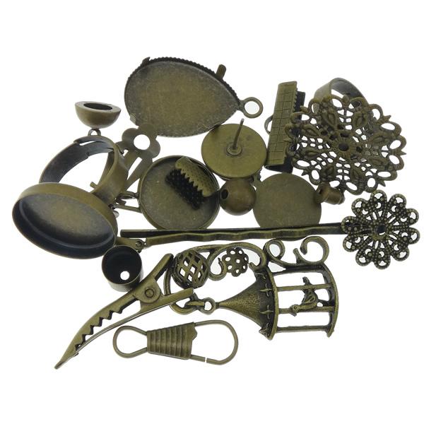 O Antique Bronze nickel, lead & cadmium free