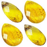 Imitation Amber Acrylic Pendants
