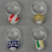 European Beads Brass Finger Ring