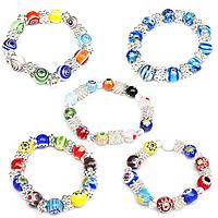 CCB Millefiori Glass Bracelets
