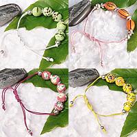 Porcelain Wax Cord Bracelets