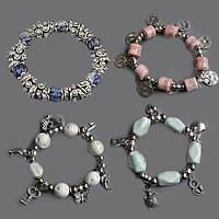 Zinc Alloy Porcelain Bracelets