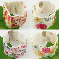 Painted Shell Bracelets