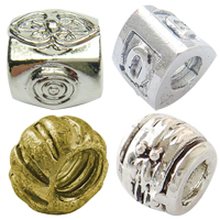 Zinc Alloy European Beads